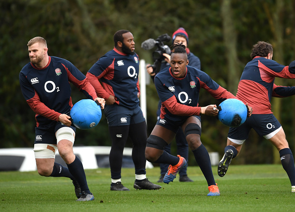 Watch an England Rugby Training Session 2