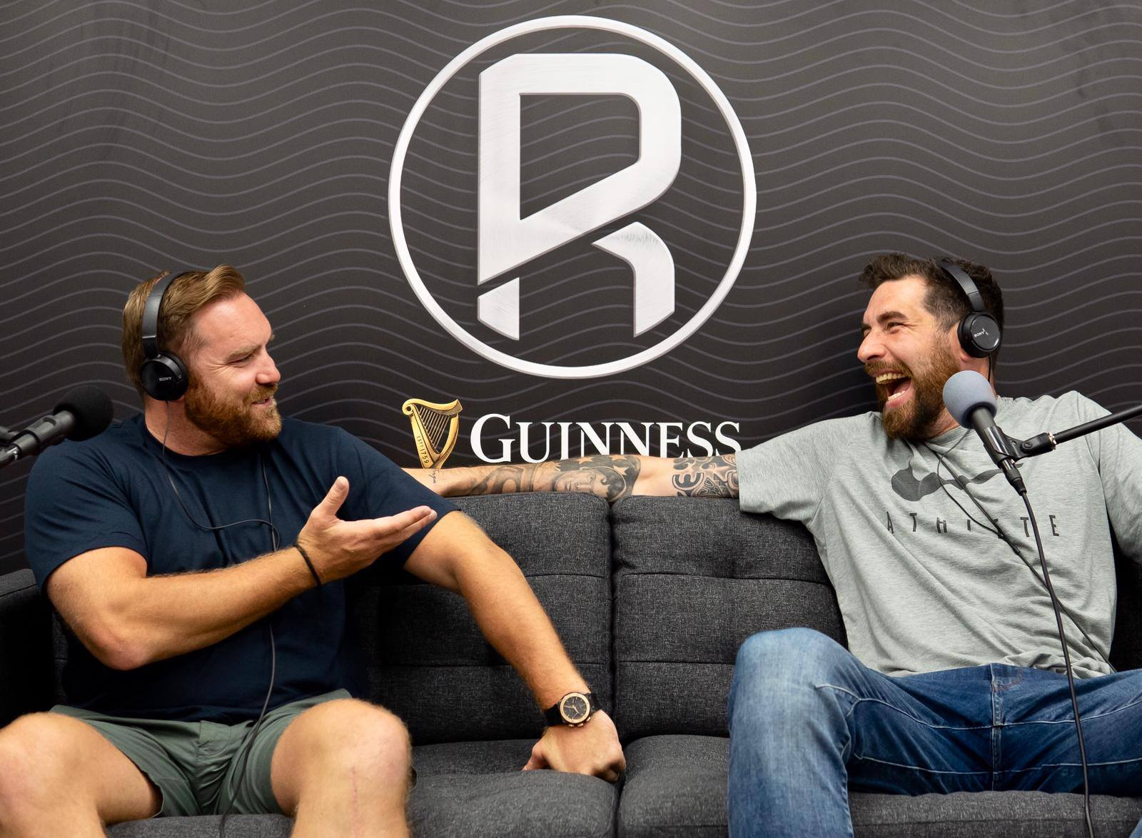 Six VIP tickets to The Rugby Pod Live with Andy Goode Jim Hamilton